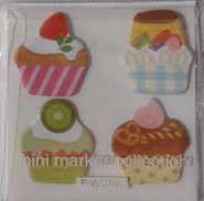 Kawaii - mini sticky notes cupcakes