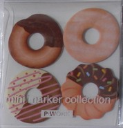 Kawaii - mini sticky notes donuts