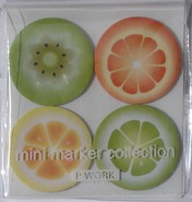 Kawaii - mini sticky notes fruit