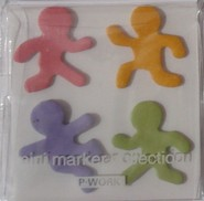 Kawaii - mini sticky notes poppetjes